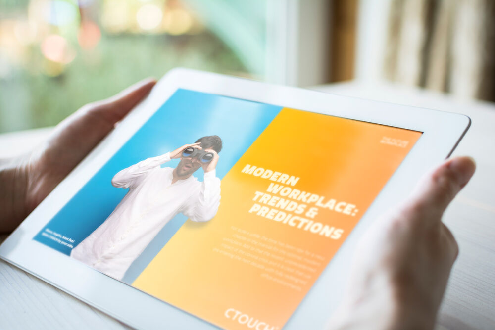 CTOUCH Whitepaper The future workplace on tablet EN