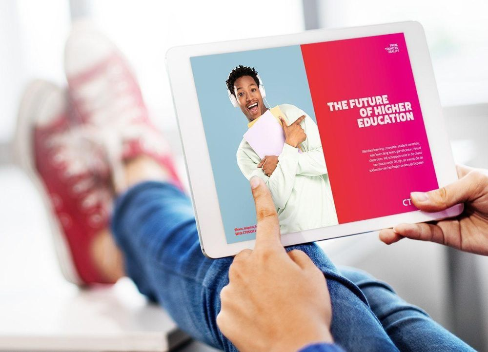 CTOUCH whitepaper op tablet Trends Hoger Onderwijs V201103 EN