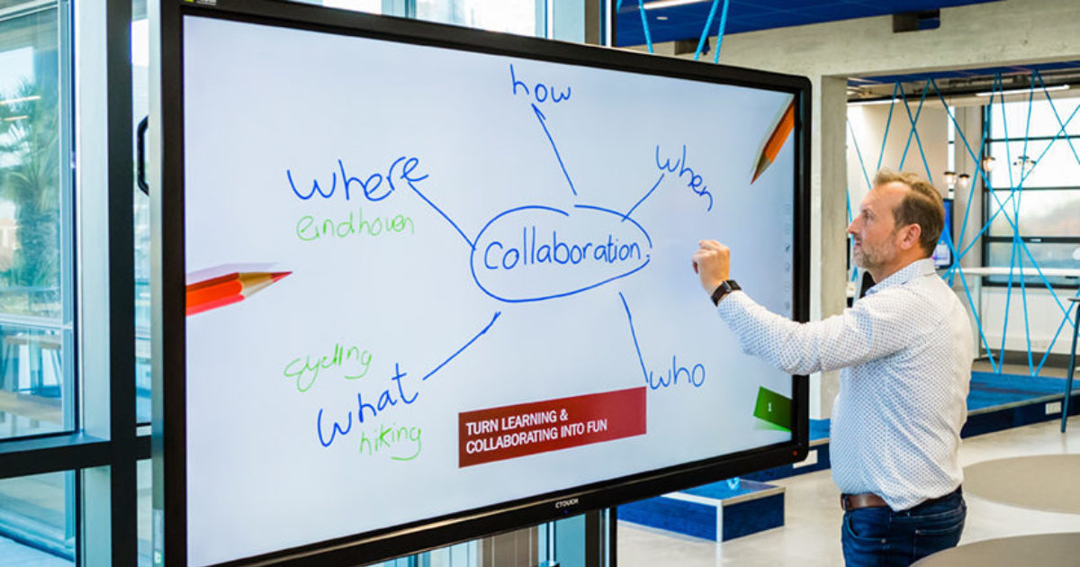CTOUCH | Interactive touchscreens for your meetings
