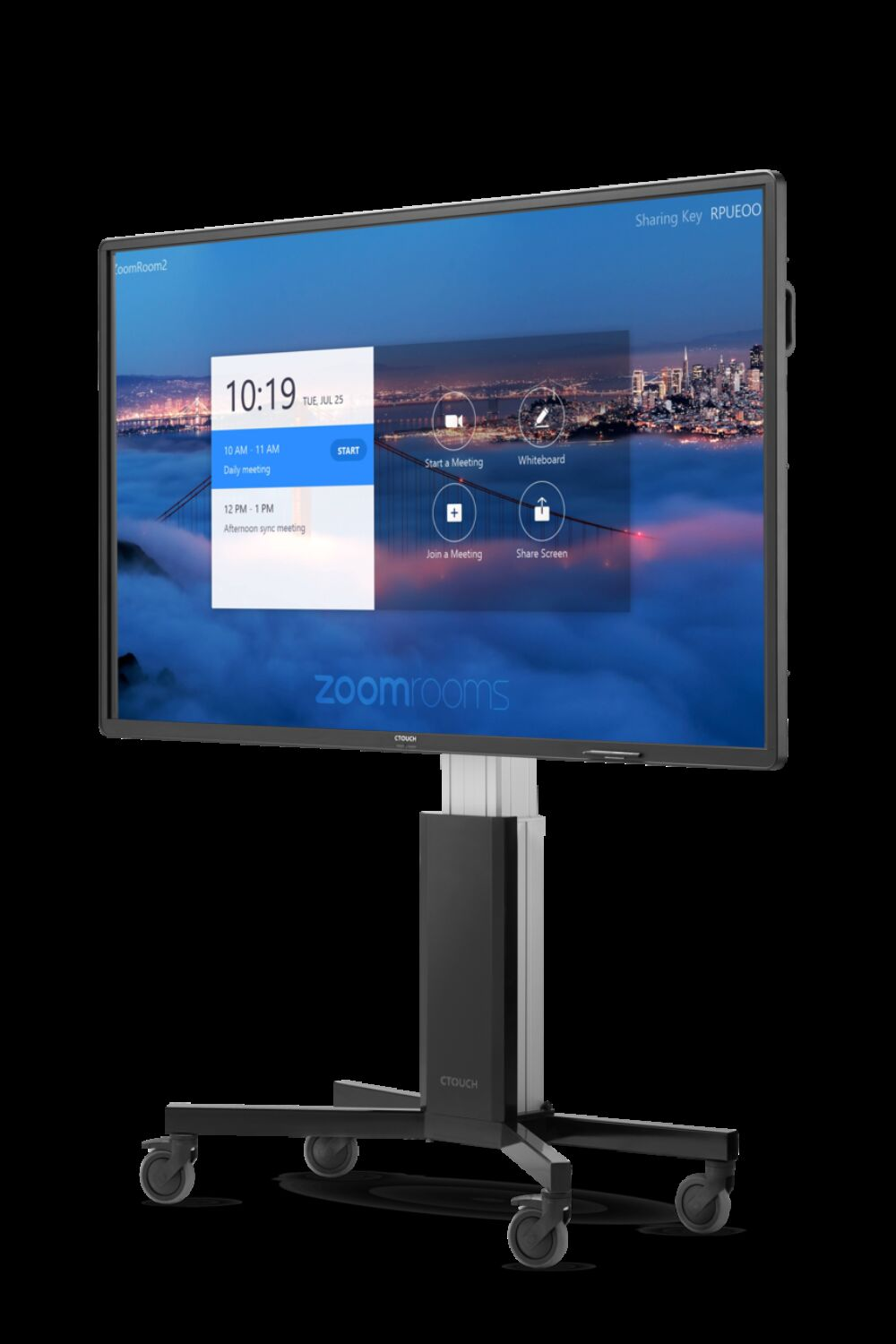 For Zoom user interface Riva display Wallom persp high HR Hot Pink RGB