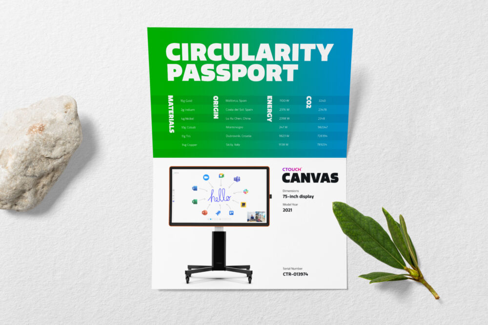 Canvas Circularity Passport