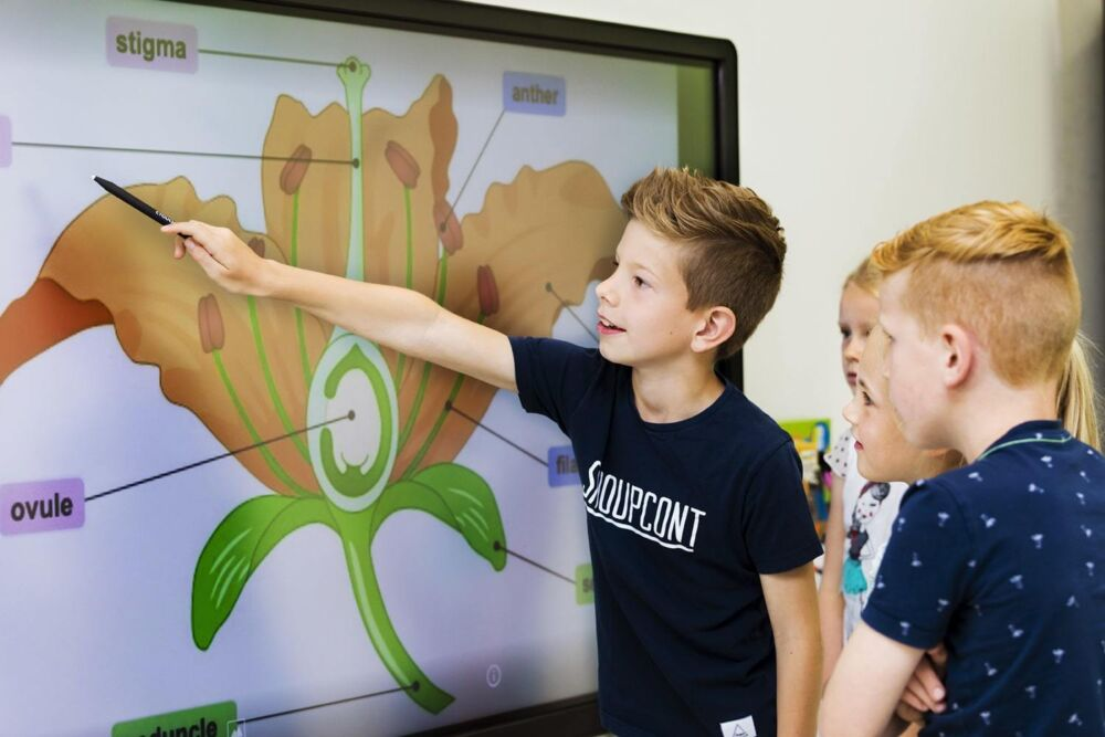 Touchscreens in education