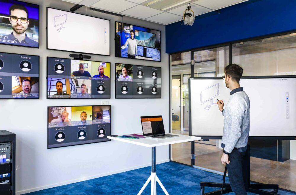 CTOUCH virtuel trainings room 1 min