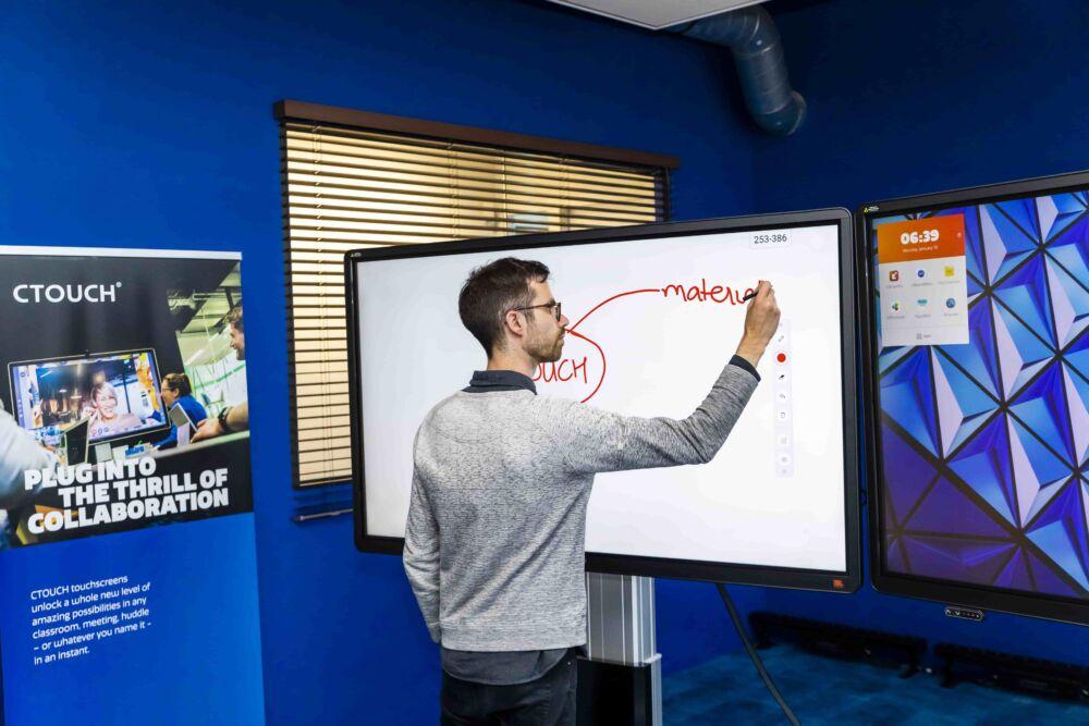 CTOUCH virtuel trainings room 2 min