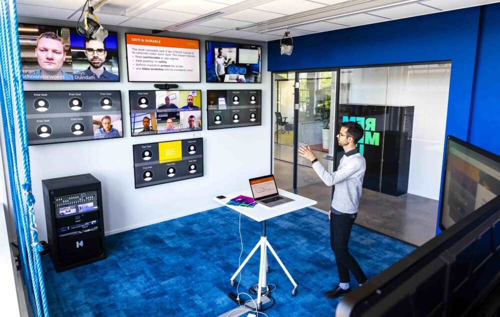 CTOUCH virtuel trainings room 3 min