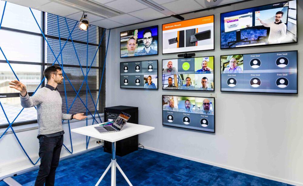 CTOUCH virtuel trainings room 4 min