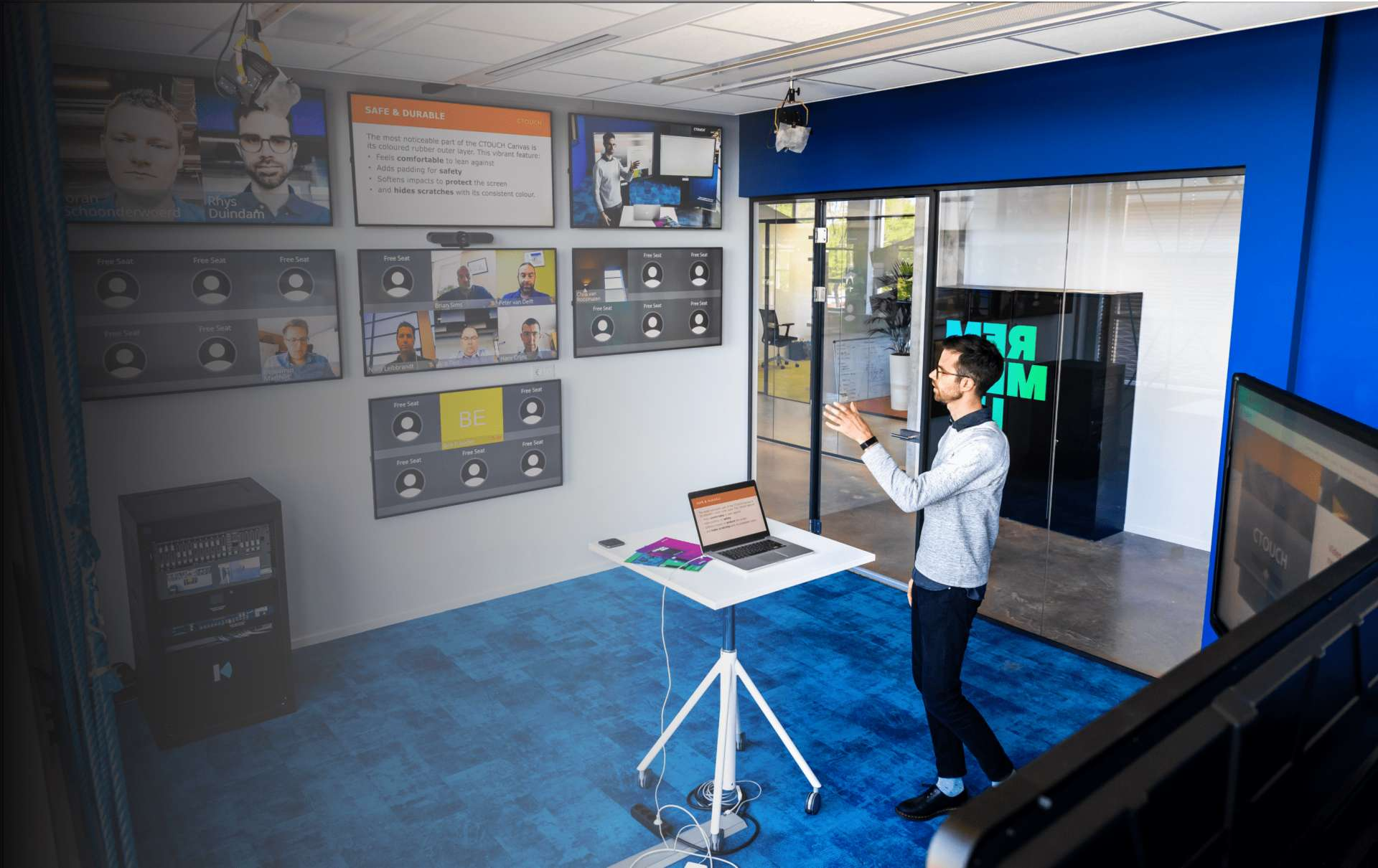 Virtuel classroom CTOUCH low
