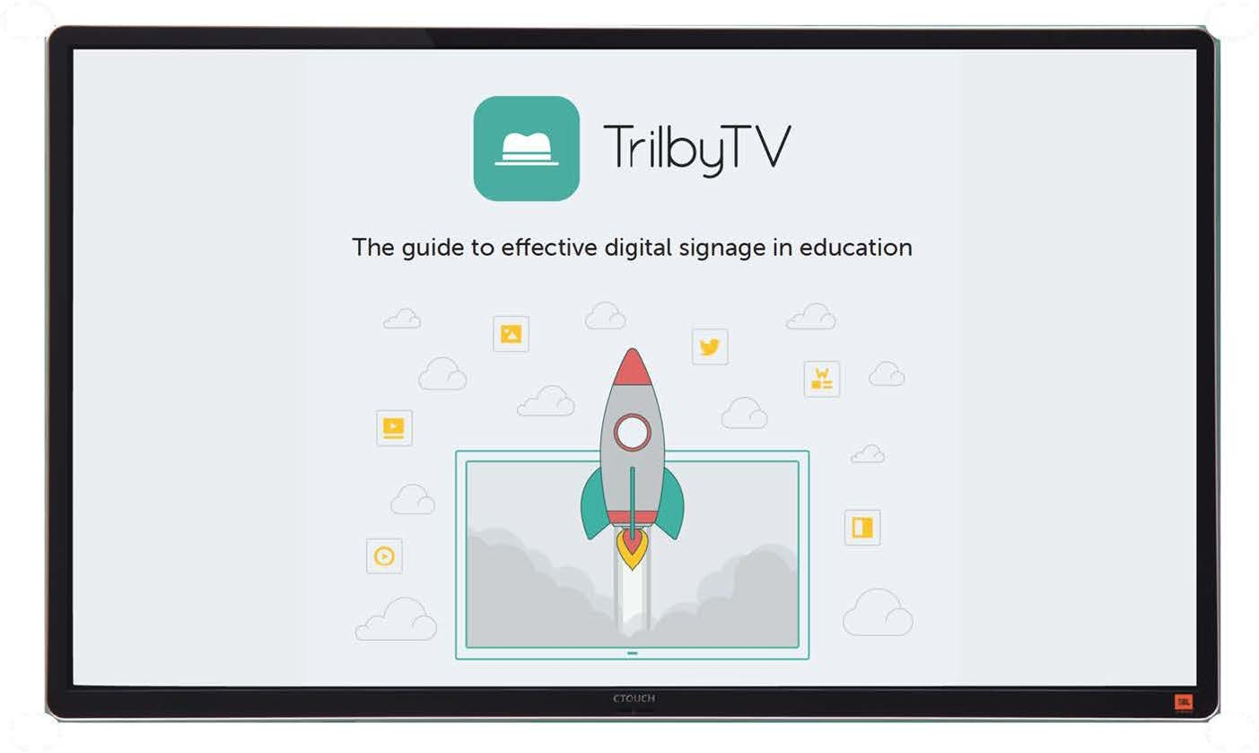 CTOUCH and Trilby TV