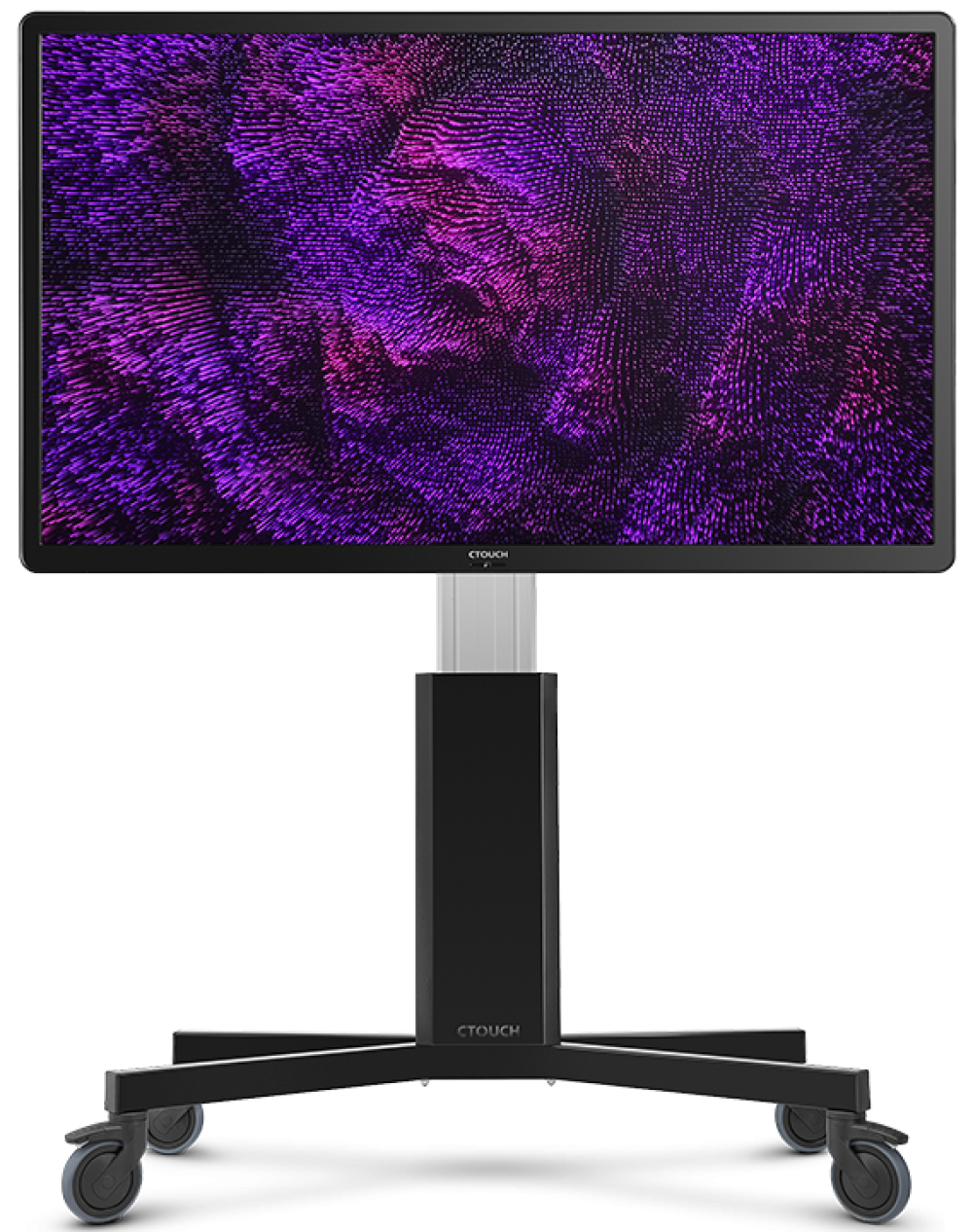 Touchscreen purple